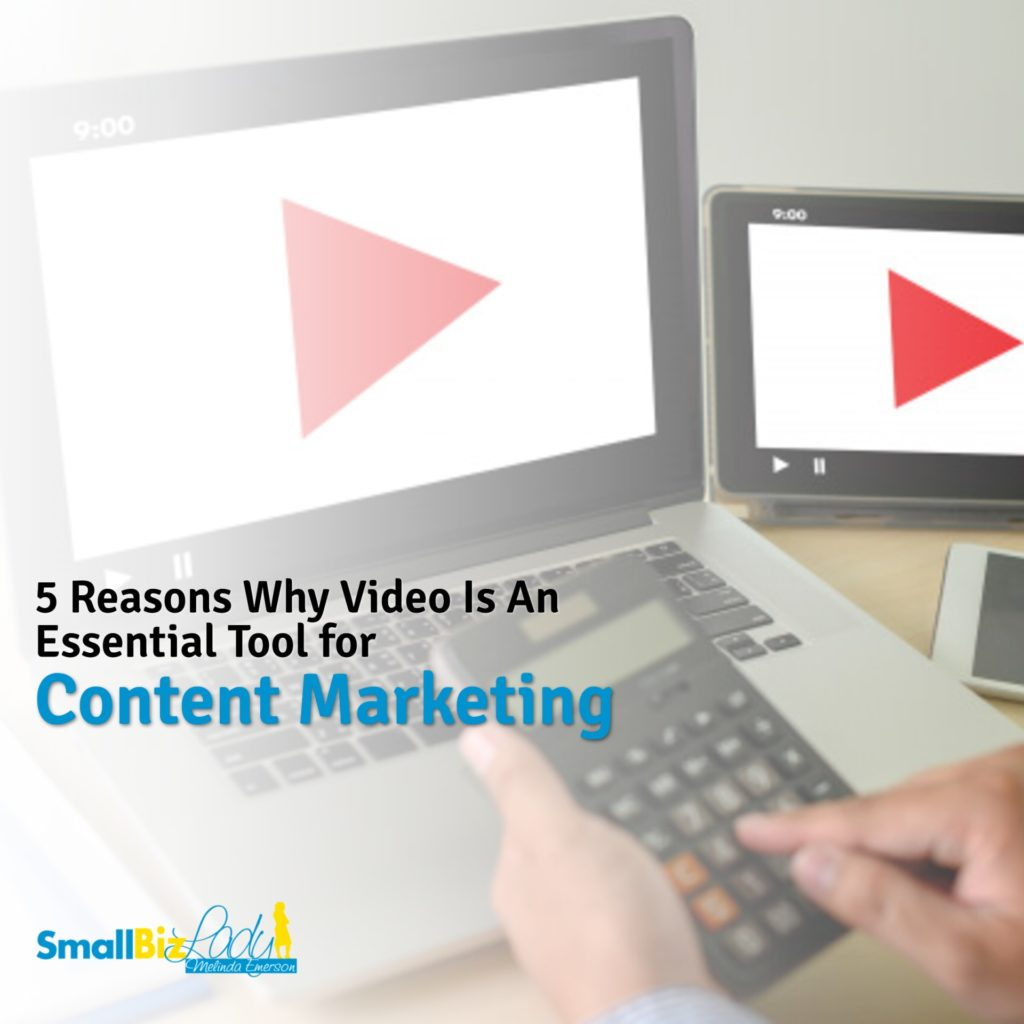 5 Reasons Why Video Is An Essential Tool for Content Marketing Social image