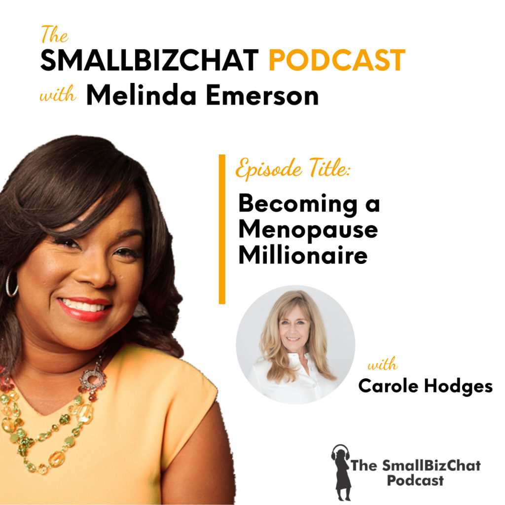 Becoming a Menopause Millionaire with Carole Hodges featured image