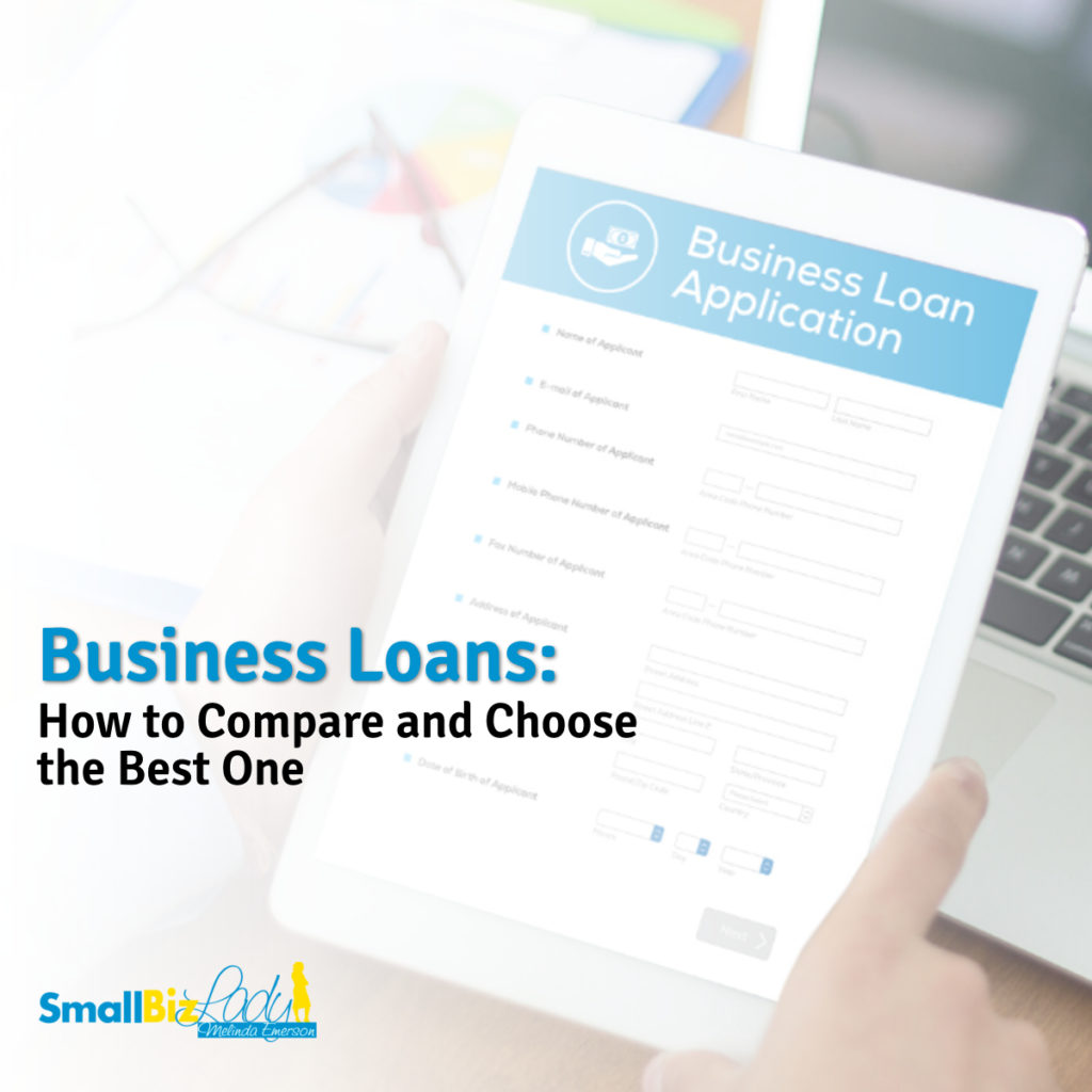 Business Loans: How to Compare and Choose the Best One social image