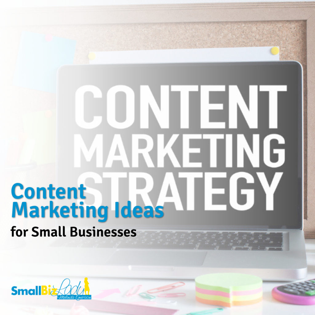 Content Marketing Ideas for Small Businesses 1200 x 1200